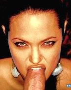 Angelina Jolie Blowjob Horny Sex 002