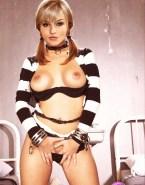 Angelique Boyer Rubs Pussy Panties Nude Fake 001