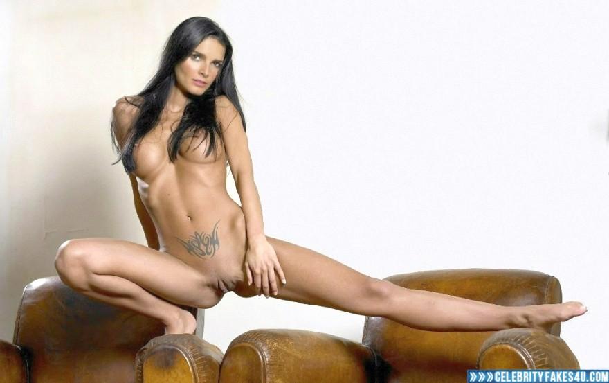 Angie Harmon Boobs Camel Toe Porn Fake 001 Â« Celebrity Fakes 4U