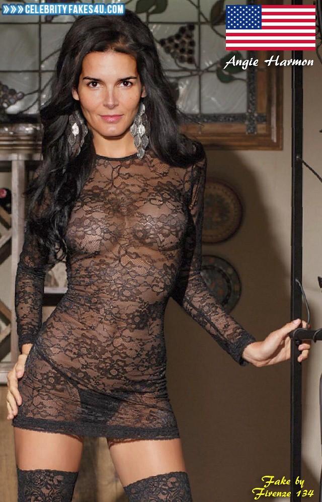 Harmon hot Angie nude