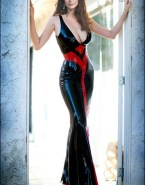 Anna Friel Latex Hot Outfit Nude 001