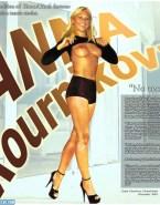 Anna Kournikova Sexy Legs Flashing Tits Fakes 001