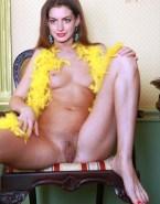 Anne Hathaway Boobs Pussy Porn 001