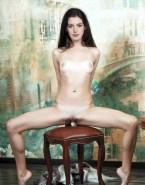 Anne Hathaway Exposing Vagina Nude Body 001