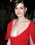Anne Hathaway Pierced Nipples Wardrobe Malfunction Nsfw 001