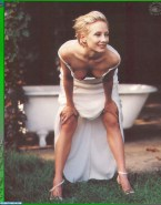 Anne Heche Boobs Outdoors Fake 001