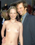 Anne Heche Small Boobs Public Nude Fake 001