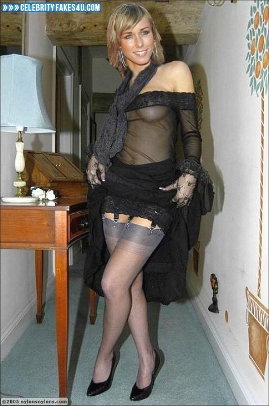 Annemarie Warnkross Fake, Heels, Homemade, See-Thru, Stockings, Porn