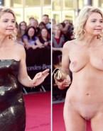 Annette Frier Naked Tits Fake-003