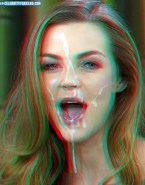 Annika Kipp Horny Cum Facial Naked Fake 001