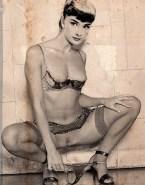 Audrey Hepburn Wardrobe Malfunction Panties Down Naked Fake 001