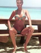 Bar Refaeli Bikini Beach Nude Fake 001