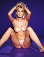 Bar Refaeli Breasts Legs Spread Pussy Nudes Fake 001