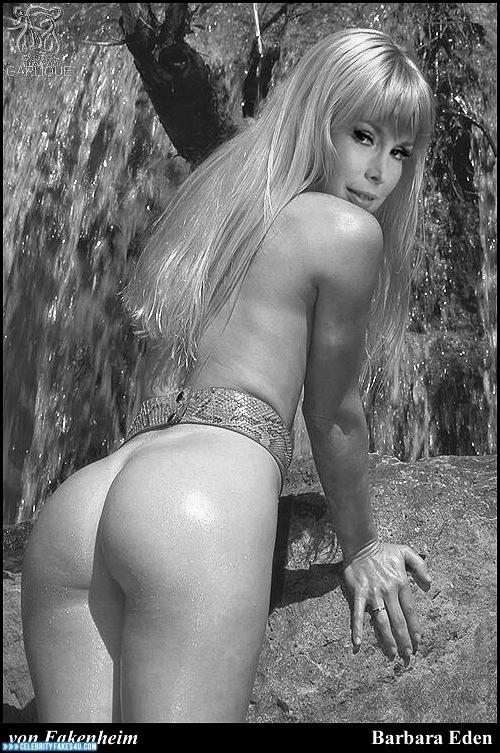 Barbara Eden Fake, Ass, Horny, Nude, Porn