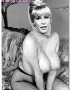 Barbara Eden Boobs Squeezed Big Tits Naked 001