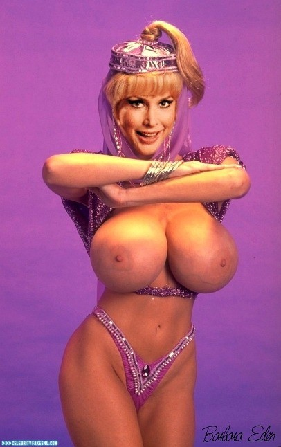 Barbara Eden G String Enorme bryster Nøgne 001-5320