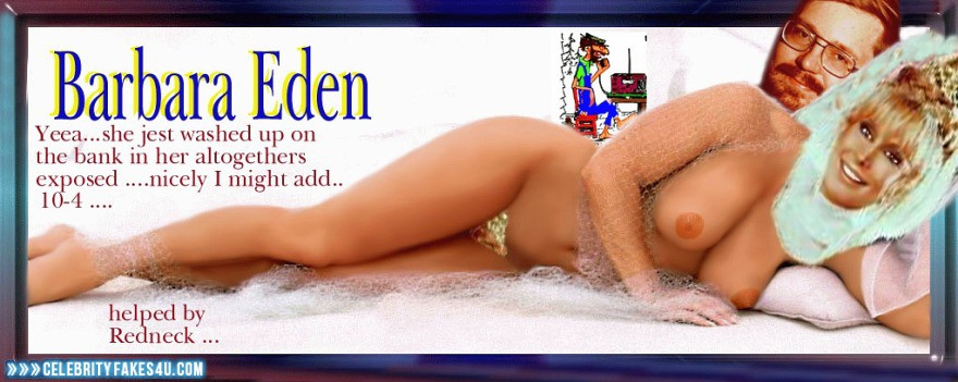 Barbara Eden Fake, Nude, Sexy Legs, Tits, Porn