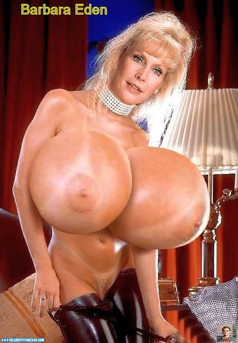 Barbara Eden Fake, Huge Tits, Nude, Tits, Porn