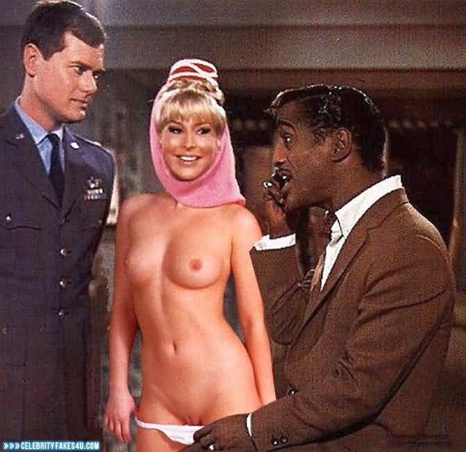 Barbara Eden Fake, I Dream of Jeannie (TV Series), Nude, Panties Pulled Down, Pussy, Series, Tits, Porn