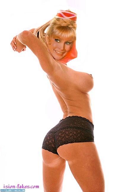 Barbara Eden Fake, Ass, Big Tits, Horny, I Dream of Jeannie (TV Series), Nude, Panties, Series, Sideboob, Tits, Porn