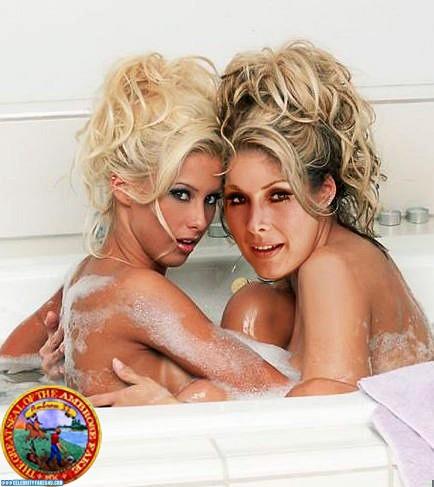 Barbara Eden Fake, Bath / Shower, Lesbian, Multi, Wet, Porn