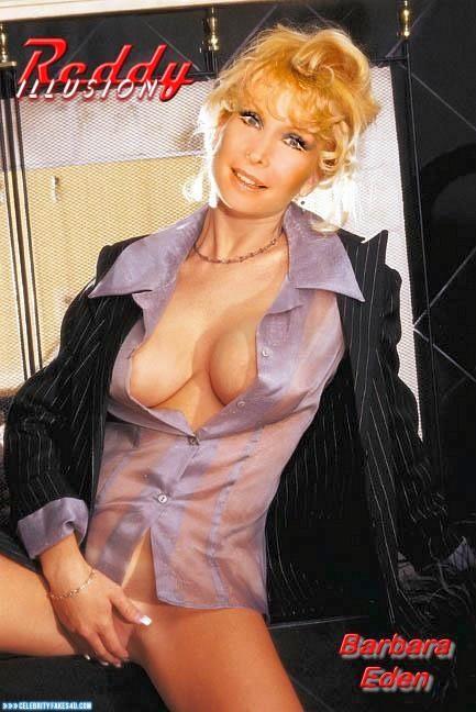 Barbara Eden Fake, Masturbating, Nude, Pussy, Tits, Porn