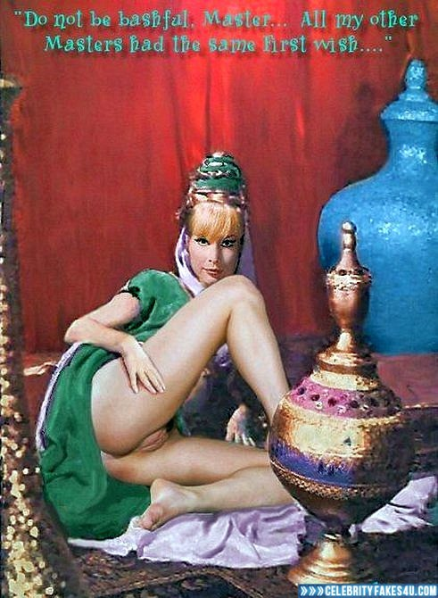 Barbara Eden Fake, Ass, I Dream of Jeannie (TV Series), Nude, Pussy, Series, Porn
