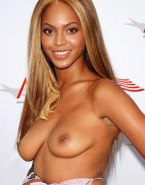 Beyonce Knowles Topless Public Nude 001