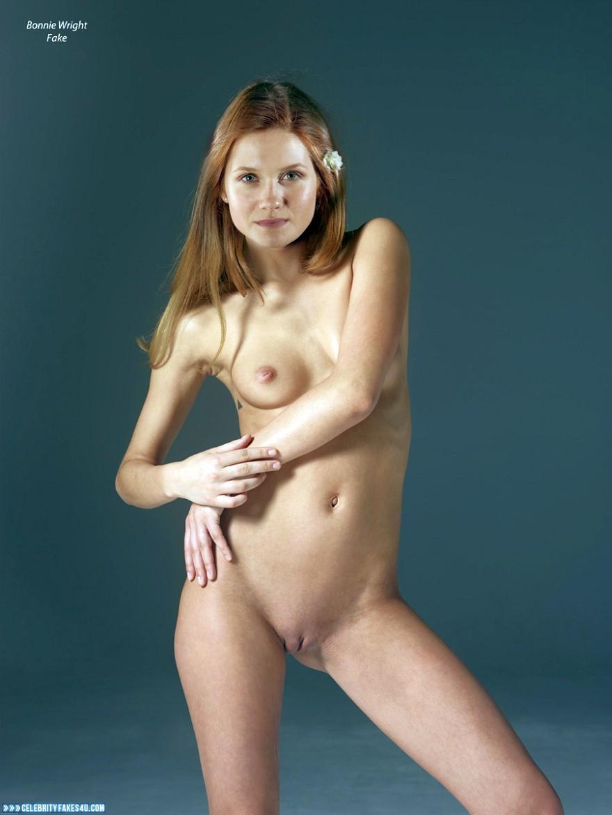 bonnie wright naked tits