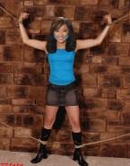 Brenda Song Skirt Bondage 001