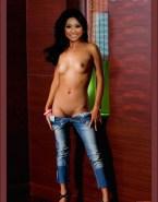 Brenda Song Topless Panties Down 001
