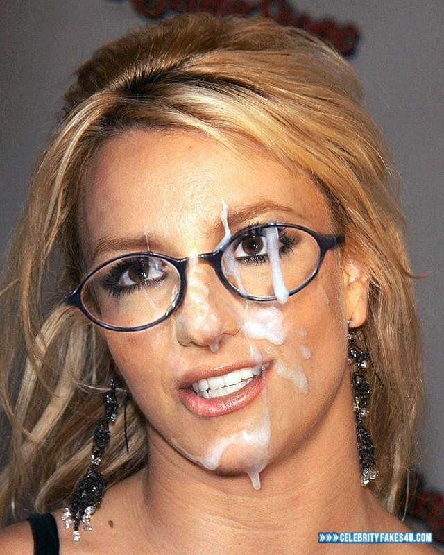 Cumshot britney fake spears are not