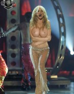 Britney Spears Large Tits Public 001