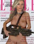 Cameron Diaz Breasts Magazine Cover Xxx 001