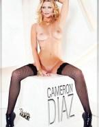 Cameron Diaz Stockings Boobs Naked 001