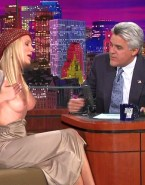 Cameron Diaz Tit Flash Tonight Show With Jay Leno Nude 001