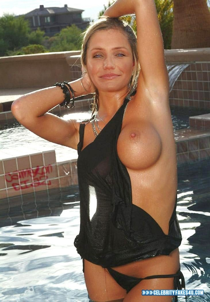 cameron diaz nude wet