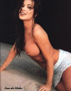 Carmen Electra Tits Beach Nsfw 001