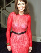Carol Vorderman See Thru Breasts 001