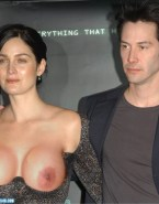 Carrie Anne Moss Big Breasts Public Porn 001