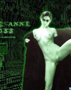 Carrie Anne Moss Boobs Flash Legs Spread 001