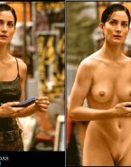 Carrie Anne Moss Naked Body Boobs 001