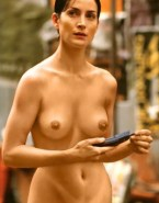 Carrie Anne Moss Naked Breasts 002