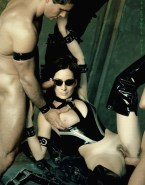 Carrie Anne Moss Hot Outfit Gangbang Porn Sex 001