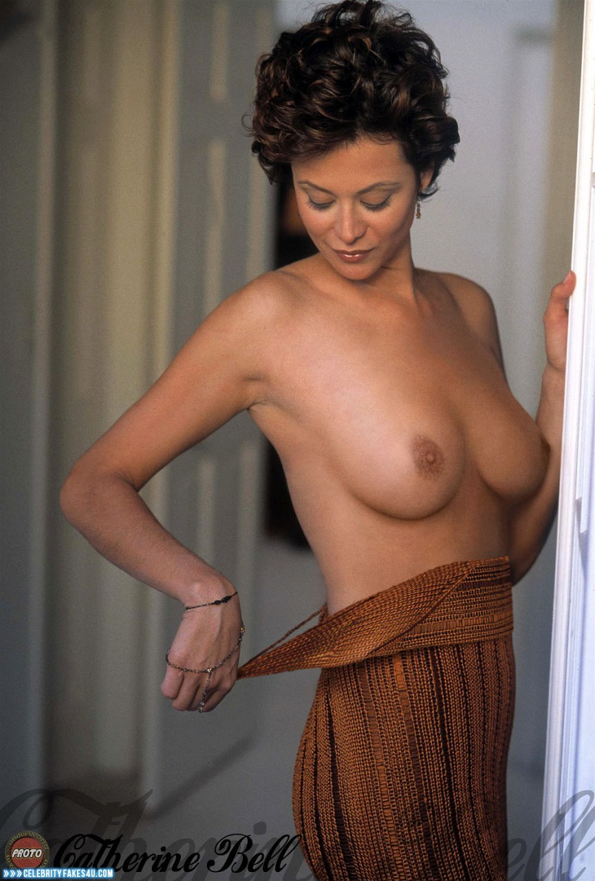 Catherine Bell Fake, Nude, Tits, Undressing, Porn