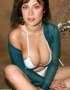 Catherine Bell Wet Bikini Naked 001