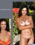 Catherine Zeta Jones Squeezing Tits Nude 001