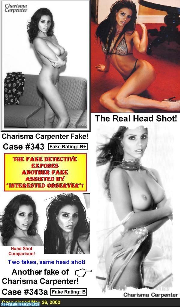 Charisma Carpenter Fake, Sexy Legs, Very Nice Tits, Porn