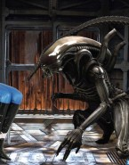 Charlize Theron Gagged Alien Porn 001