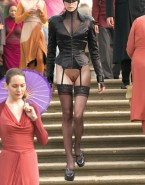 Charlize Theron Pantiless Public Porn 001